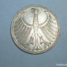 Monedas antiguas de Europa: ALEMANIA 5 MARCOS PLATA 1961 J (1921). Lote 207341418