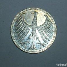 Monedas antiguas de Europa: ALEMANIA 5 MARCOS PLATA 1963 F (1923). Lote 207341507