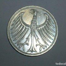 Monedas antiguas de Europa: ALEMANIA 5 MARCOS PLATA 1964 F (1925). Lote 207341585