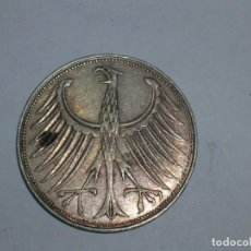 Monedas antiguas de Europa: ALEMANIA 5 MARCOS PLATA 1965 D (1927). Lote 207341691