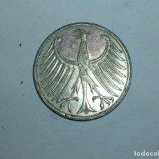 Monedas antiguas de Europa: ALEMANIA 5 MARCOS PLATA 1958 F (1928). Lote 207341750