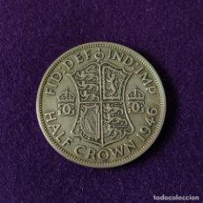 Monedas antiguas de Europa: MONEDA DE INGLATERRA GRAN BRETAÑA. MEDIA CORONA. 1946. PLATA. JORGE VI.. Lote 207851048
