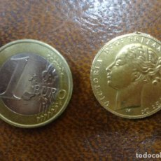 Monedas antiguas de Europa: MONEDA DE ORO LIBRA ESTERLINA VICTORIA. Lote 208432722