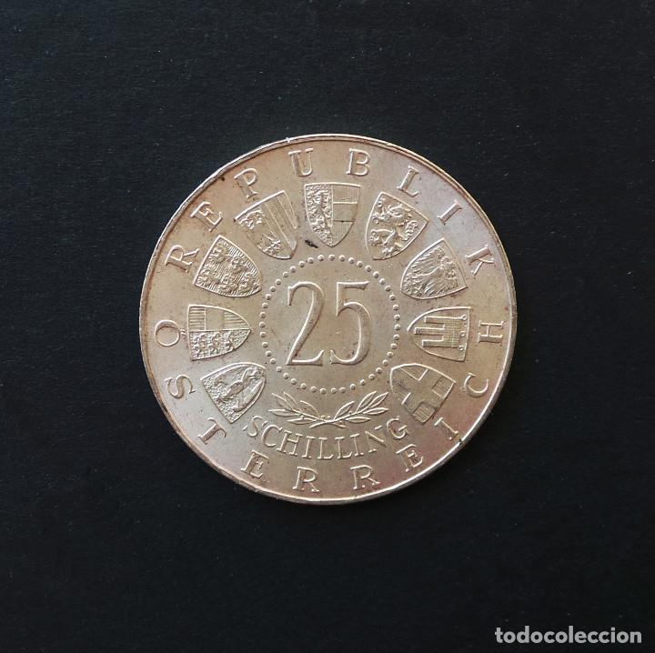 Monedas antiguas de Europa: AUSTRIA.- 25 SCHILLING (CHELINES) PLATA 1958 CARL AUER, BARÓN DE WELSBACH. - Foto 2 - 208936570