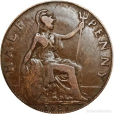 Monedas antiguas de Europa: REINO UNIDO. ½ PENIQUE (HALF PENNY) DE 1921 (JORGE V). (142).. Lote 202793803
