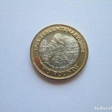 Monedas antiguas de Europa: GIBRALTAR * 2 LIBRAS 2004 * III CENTENARIO CAPTURA DE GIBRALTAR 1704 * SC. Lote 209721722