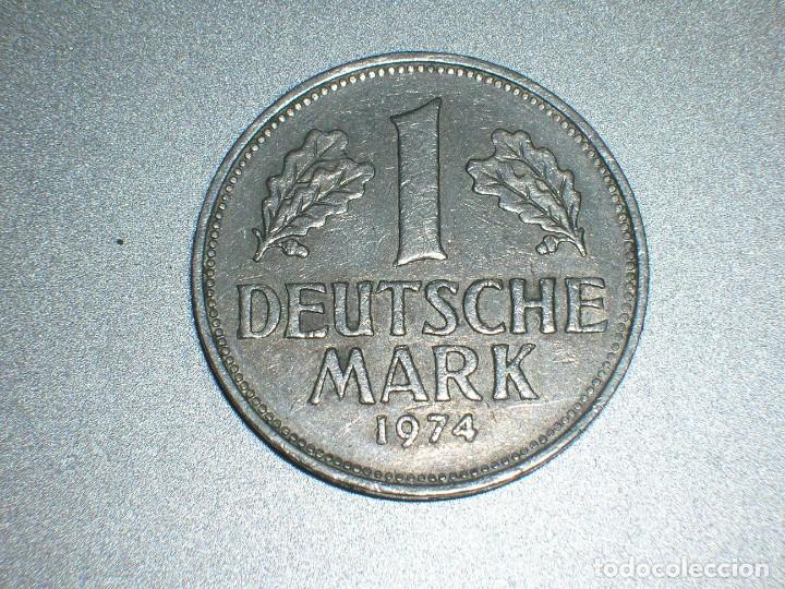ALEMANIA 1 MARCO 1974 J (2691) (Numismática - Extranjeras - Europa)