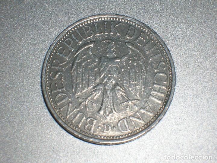 Monedas antiguas de Europa: ALEMANIA 1 MARCO 1975 D (2692) - Foto 2 - 210012161