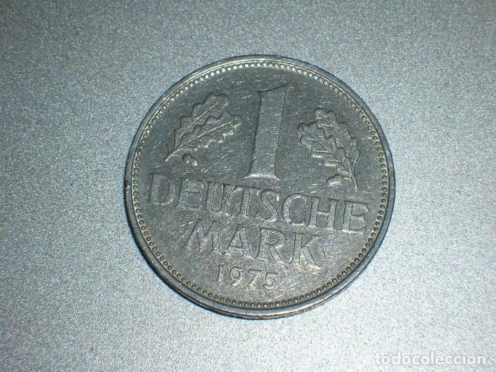 ALEMANIA 1 MARCO 1975 G (2694) (Numismática - Extranjeras - Europa)