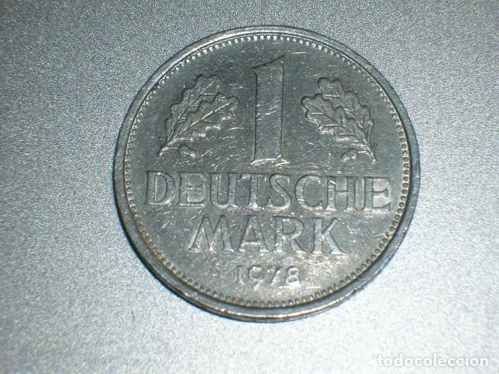 ALEMANIA 1 MARCO 1978 D (2704) (Numismática - Extranjeras - Europa)