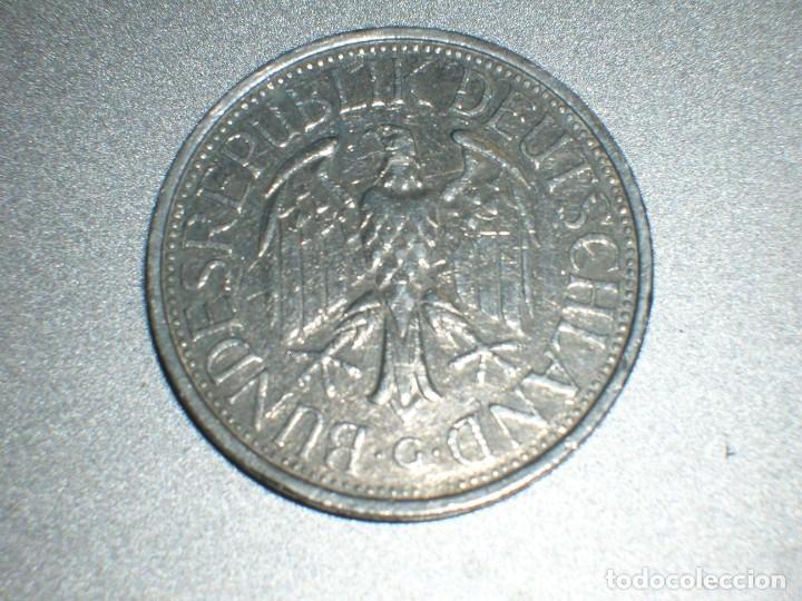 Monedas antiguas de Europa: ALEMANIA 1 MARCO 1978 G (2706) - Foto 2 - 210013055