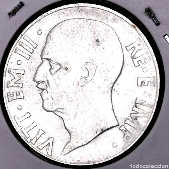 Monedas antiguas de Europa: E01. VARIANTE MAGNÉTICA, CANTO ESTRIADO. KM#75b. Italia. 20 centesimi 1940 - Foto 2 - 210065502