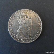 Monedas antiguas de Europa: 50 SCHILLING (CHELINES) DE PLATA 1365 UNIVERSIDAD DE VIENA 1965. REPUBLIK OSTERREICH. AÑO 1965. Lote 210223447