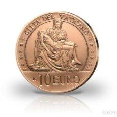 Moedas antigas da Europa: VATICANO 2020. 10 EUROS EN COBRE. LA PIEDAD DE MIGUEL ANGEL. Lote 210254783