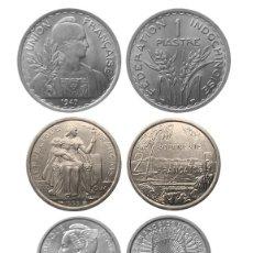 Monedas antiguas de Europa: LOTE MONEDAS COLONIAS FRANCESAS. Lote 210375221