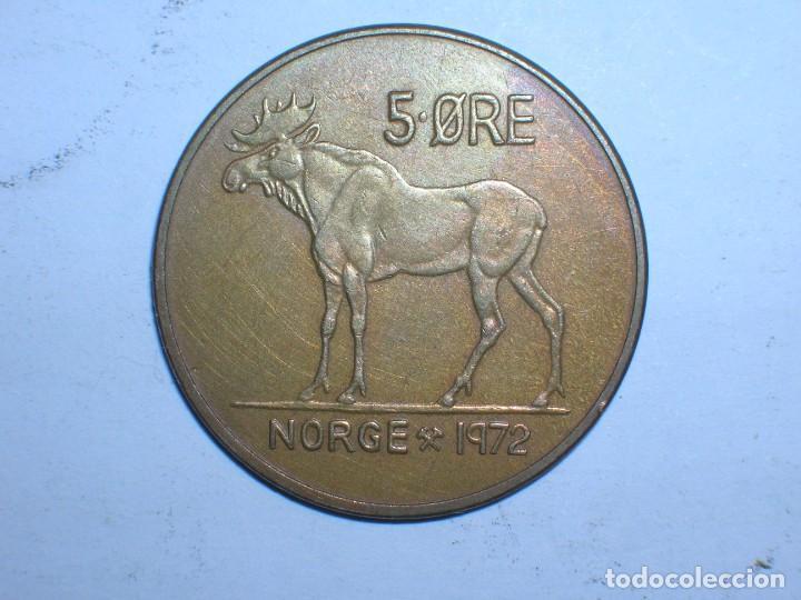 NORUEGA 5 ORE 1972 (6077) (Numismática - Extranjeras - Europa)