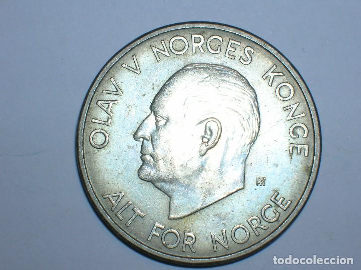 NORUEGA 5 CORONAS 1963 (6051) (Numismática - Extranjeras - Europa)