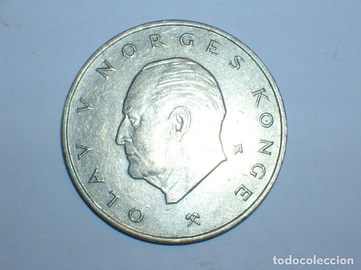NORUEGA 5 CORONAS 1982 (6057) (Numismática - Extranjeras - Europa)