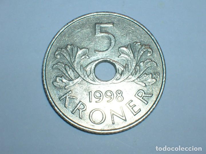 Monedas antiguas de Europa: NORUEGA 5 CORONAS 1998 (6063) - Foto 2 - 210428940