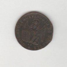 Monedas antiguas de Europa: VENECIA-GOBIERNO PROVISORIO-5 CENTESIMOS-1849. Lote 210520893