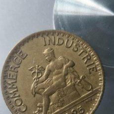 Monedas antiguas de Europa: ESCASA MONEDA 1 FRANCO 1925 COMERCIO INDUSTRIA. Lote 210569963