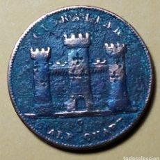 Monedas antiguas de Europa: GIBRALTAR * 1842 * ALF QUART. Lote 210728346