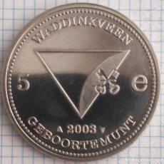 Monedas antiguas de Europa: 5 EUROS PLATA PAISES BAJOS HOLANDA 2003 S/C. Lote 211270246