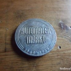 Monedas antiguas de Europa: MEDALLA TOKEN FICHA COMERCIAL - AUTOMATEN MARKT 1949 1989 - 40 JAHRE ALEMANIA. Lote 211440539