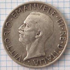 Monedas antiguas de Europa: 5 LIRAS PLATA ITALIA 1929 ROMA. Lote 212383335