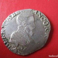 Monedas antiguas de Europa: FRANCIA. 1/2 TESTON DE FRANCISCO II 1559. Lote 212473646