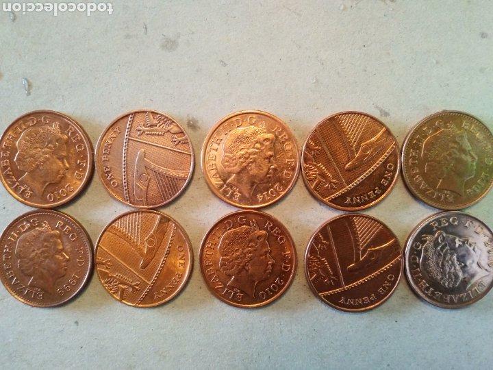 LOTE MONEDAS INGLESAS (Numismática - Extranjeras - Europa)