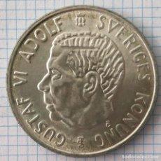 Monedas antiguas de Europa: 2 CORONAS PLATA SUECIA 1953 GUSTAVO VI ADOLFO. Lote 212522772