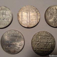Monedas antiguas de Europa: LOTE MANEDAS FINLANDIA DE 10 MARKKAA. Lote 212899245