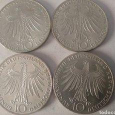 Monedas antiguas de Europa: 4 MONEDAS OLIMPIADAS DE MUNICH 1972 SERIE COMPLETA D.F.G.J.. Lote 212931172