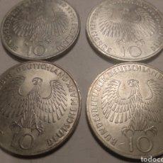 Monedas antiguas de Europa: 4 MONEDAS OLIMPIADAS DE MUNICH 1972 SERIE COMPLETA D.F.G.J.. Lote 212938417