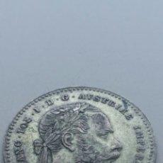 Monedas antiguas de Europa: MONEDA DE FRANCISCO JOSÉ I EMPERADOR DE AUSTRIA EN PLATA. Lote 212978992
