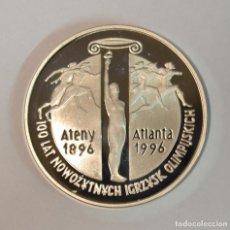 Monedas antiguas de Europa: POLONIA - 10 ZLOTYCH 1995 - CENTENARIO ATLANTA - OLÍMPICOS DE ATLANTA 1996 - PROOF - LOT. 3316. Lote 213144316