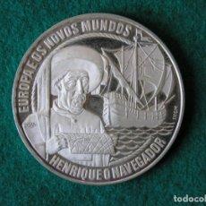 Monedas antiguas de Europa: MONEDA 25 ECU - PORTUGAL - ENRIQUE EL NAVEGANTE - 1991 - PLATA - PROOF. Lote 213337556