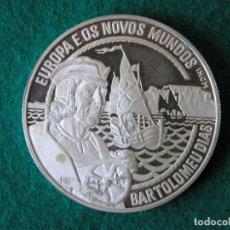 Monedas antiguas de Europa: MONEDA 25 ECU - PORTUGAL - BARTOLOMÉ DÍAZ - 1993 - PLATA - PROOF. Lote 213337691