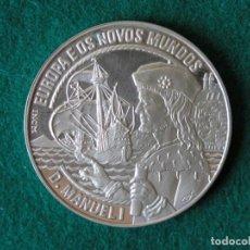 Monedas antiguas de Europa: MONEDA 25 ECU - PORTUGAL - MANUEL I - 1994 - PLATA - PROOF. Lote 213337805