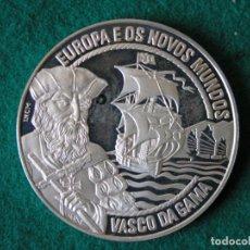 Monedas antiguas de Europa: MONEDA 25 ECU - PORTUGAL - VASCO DE GAMA - 1995 - PLATA - PROOF. Lote 213337915