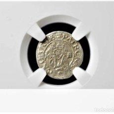 Monedas antiguas de Europa: IMPERIO AUSTRIACO.FERNANDO I. DENARIO. NGC CERTIFICADO AU 58 KREMNITZ(HUNGRIA). 1541-KB-PLATA. Lote 213456808