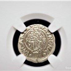 Monedas antiguas de Europa: IMPERIO AUSTRIACO.FERNANDO I. DENARIO. NGC CERTIFICADO AU 58 KREMNITZ(HUNGRIA). 1542-KB-PLATA. Lote 213464501
