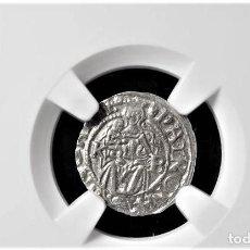 Monedas antiguas de Europa: IMPERIO AUSTRIACO.FERNANDO I. DENARIO. NGC CERTIFICADO AU 58 KREMNITZ(HUNGRIA). 1546-KB-PLATA. Lote 213474461