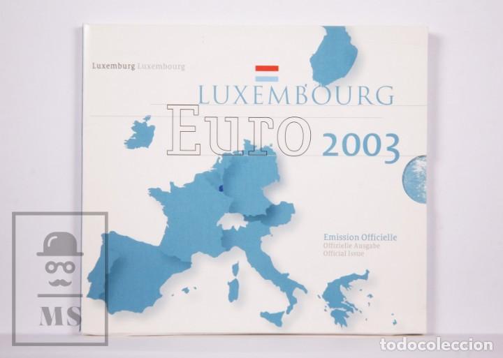 CARTERA DE 8 MONEDAS EURO DE LUXEMBURGO / LUXEMBOURG - AÑO 2003 - EMISIÓN OFICIAL (Numismática - Extranjeras - Europa)