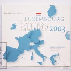 Monnaies anciennes de France: CARTERA DE 8 MONEDAS EURO DE LUXEMBURGO / LUXEMBOURG - AÑO 2003 - EMISIÓN OFICIAL. Lote 228237000