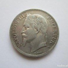 Monedas antiguas de Europa: FRANCIA * 5 FRANCOS 1870-A PARIS * PLATA. Lote 213734643