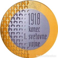 "Monedas antiguas de Europa: ESLOVENIA, 3 € 2018 ''100 ANº DE LA PRIMERA GUERRA MUNDIAL"", KM#209./ SIN CIRCULAR.. Lote 214005768"