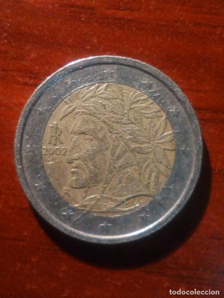 VENDO MONEDA DE 2€ ITALIANA CON LA CARA DEL INDIO. (VER MAS FOTOS). (Numismática - Extranjeras - Europa)