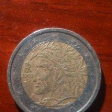 Monedas antiguas de Europa: VENDO MONEDA DE 2€ ITALIANA CON LA CARA DEL INDIO. (VER MAS FOTOS).. Lote 214147363
